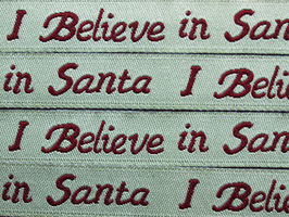 I believe in Santa, 12 mm