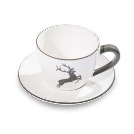 Teetasse Maxima 0.4l grauer Hirsch (ohne Unterteller)