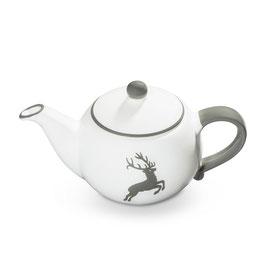 Teekanne grauer Hirsch
