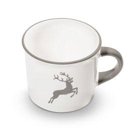 Kaffeehäferl grauer Hirsch