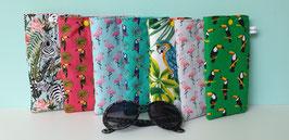 Etuis lunettes ou téléphone portable - Tropical