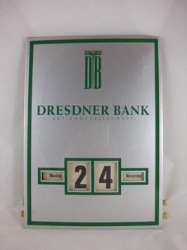Kalender - Dresdner Bank