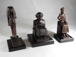 Ägypt. Bronzefiguren