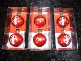 Coca Cola Weihnachtskugeln