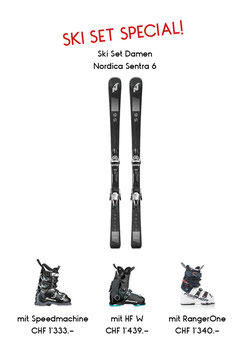Set Nordica Sentra 6 & Nordica Speedmachine 105 W