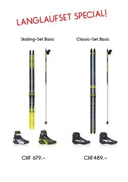 Langlaufset Basic Skating Fischer