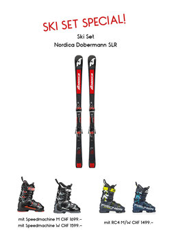 Nordica Dobermann SLR & Nordica Speedmachine 115 W