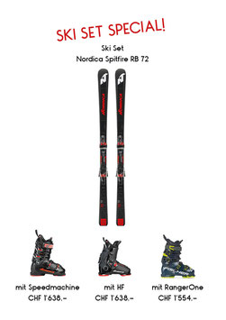 Nordica Spitfire RB72 & Speedmachine 130 M