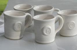 Letter G from the Alphabet Mug Series