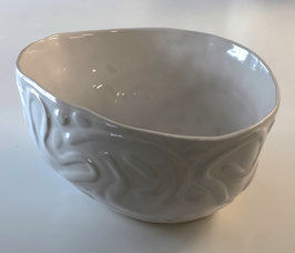Deep Oval Serving Bowl