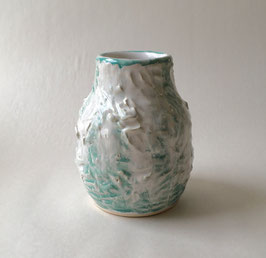 Green Striped Vase