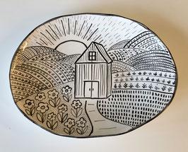 Farm Serving Platter
