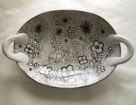 Garden Turtle Platter