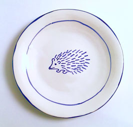 Set of 4 - Hedgehog Lunch Plates