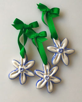 Star Anise Blossom  - Set of 3 Ornaments