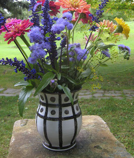 French Flavored Flower Vase