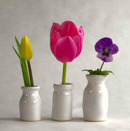 Three Brothers...bud vases