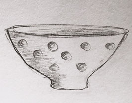 Dimpled Serving Bowl