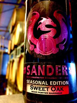 """Sander Seasonal """"Sweet Oak"""" Sour Porter Barrique 330ml"""