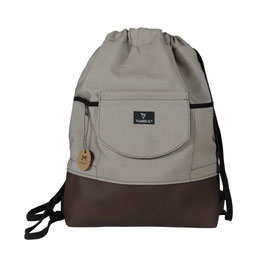 BACKPACK/GYM BAG CITY taupe M