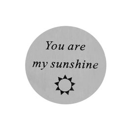 """""""You are my sunshine"""" INLAY PLATE"""