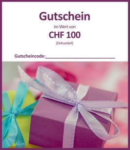 WERTGUTSCHEIN CHF 100 / B