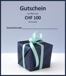 WERTGUTSCHEIN CHF 100 / A