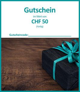 WERTGUTSCHEIN CHF 50 / A