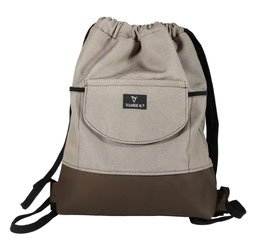 BACKPACK/GYM BAG CITY taupe (S)