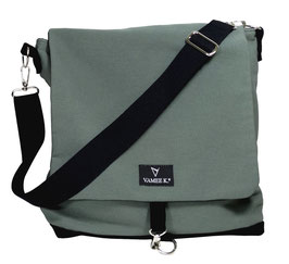 MESSENGER BAG Grau