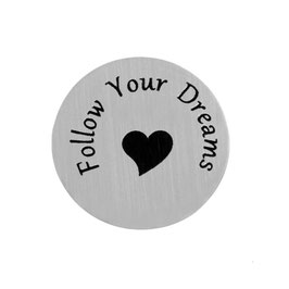"""Follow Your Dreams"" INLAY PLATE"