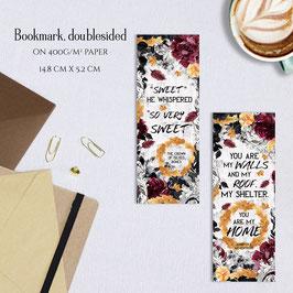 BOOKMARK - Gilded Bones