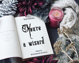 Monthly Bookmark Bundle - March