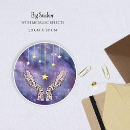 BIG STICKER - Starfall