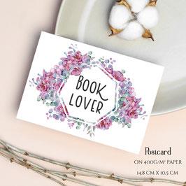 POSTCARD - Booklover