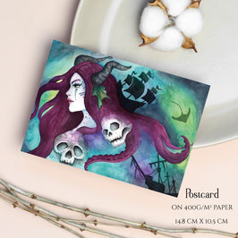 POSTCARD - Sea Enchantress Ophelia