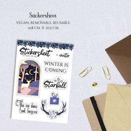 STICKERSHEET - Winter
