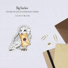 BIG STICKER - Owlpost