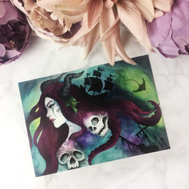 POSTCARD - Sea Enchantress Ophelia