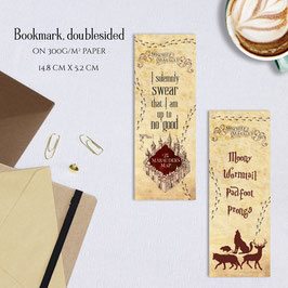 BOOKMARK - Solemnly