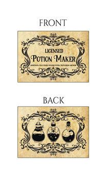Potion Maker Card