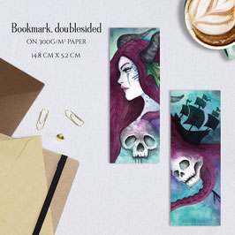 BOOKMARK - Sea Enchantress Ophelia