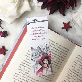 BOOKMARK - Red Riding Hood
