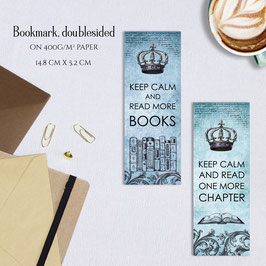 BOOKMARK - Keep Calm