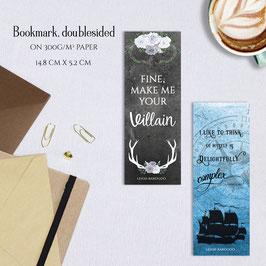 BOOKMARK - Grisha Quotes
