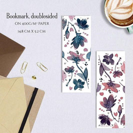 BOOKMARK - Turquoise Bloom