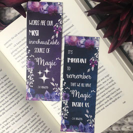 BOOKMARK - J. K. Rowling Quotes
