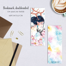 BOOKMARK - Crystal Reindeer