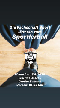 Ticket Sportlerball am 15.05.2020