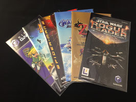 Nintendo GameCube - Instruction Manual Sleeves